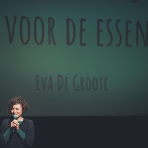 Eva De Groote over burn-out, tijd en de essentie