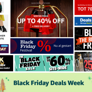 6 alternatieven voor Black Friday