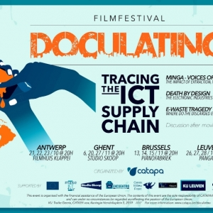 Filmfestival DocuLatino: 'Tracing the ICT supply chain'