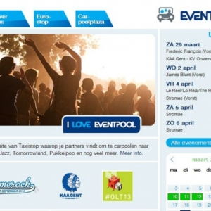 Eventpool: Share the fun, Share your ride