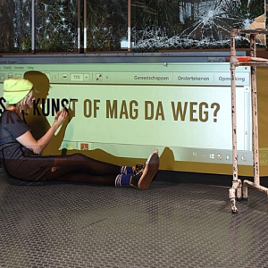 Is da kunst of mag da weg? - ONBETAALBAAR